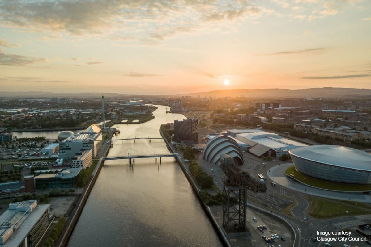 River Clyde - aerial view