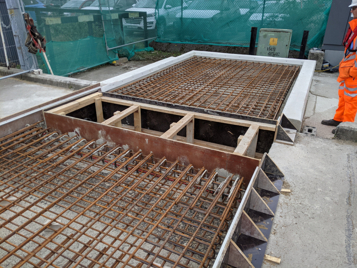 Port-of-Tilbury-lock-gates-Formwork-and-shuttering-for-new-machine-house-foundation-slabs