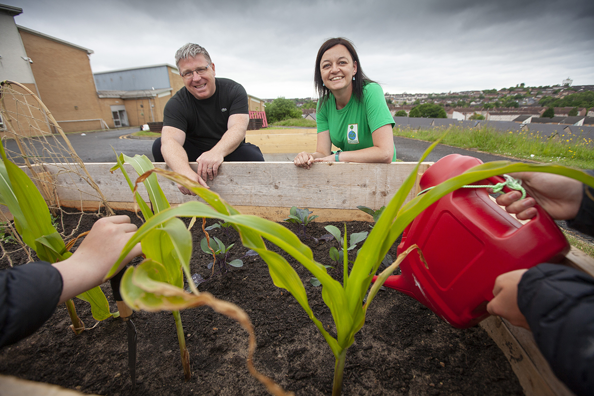 International Green Academy - Glasgow project