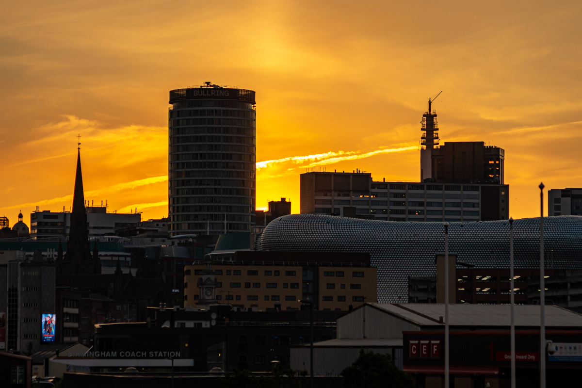 Birmingham-sunset