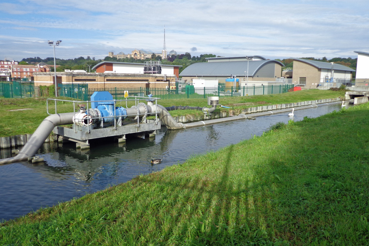 Hornsey-water-treatment-works