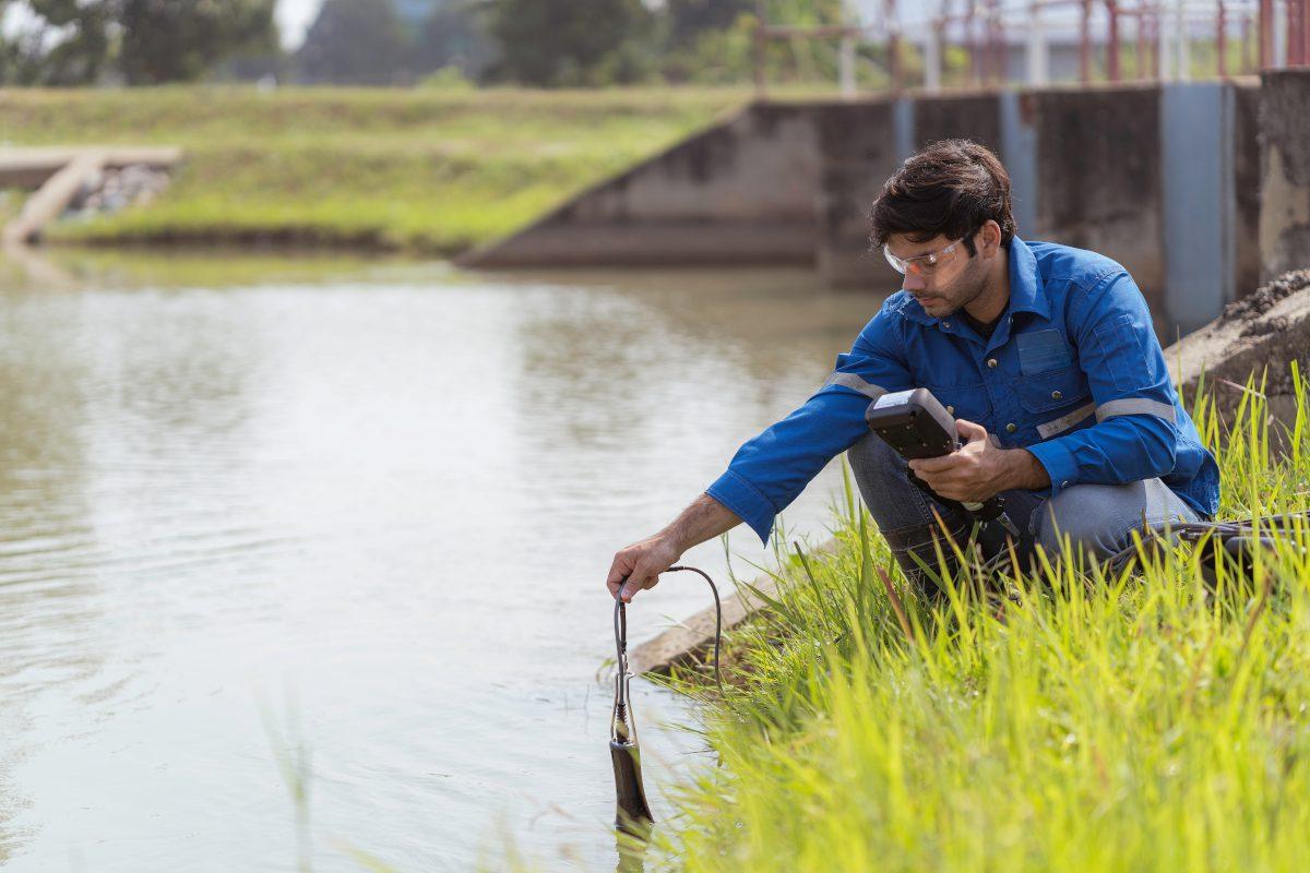 river pollution measurement