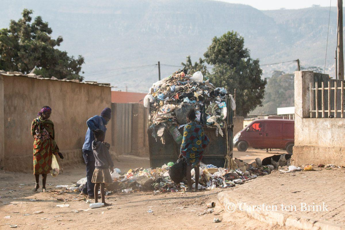Lubango-waste-collection