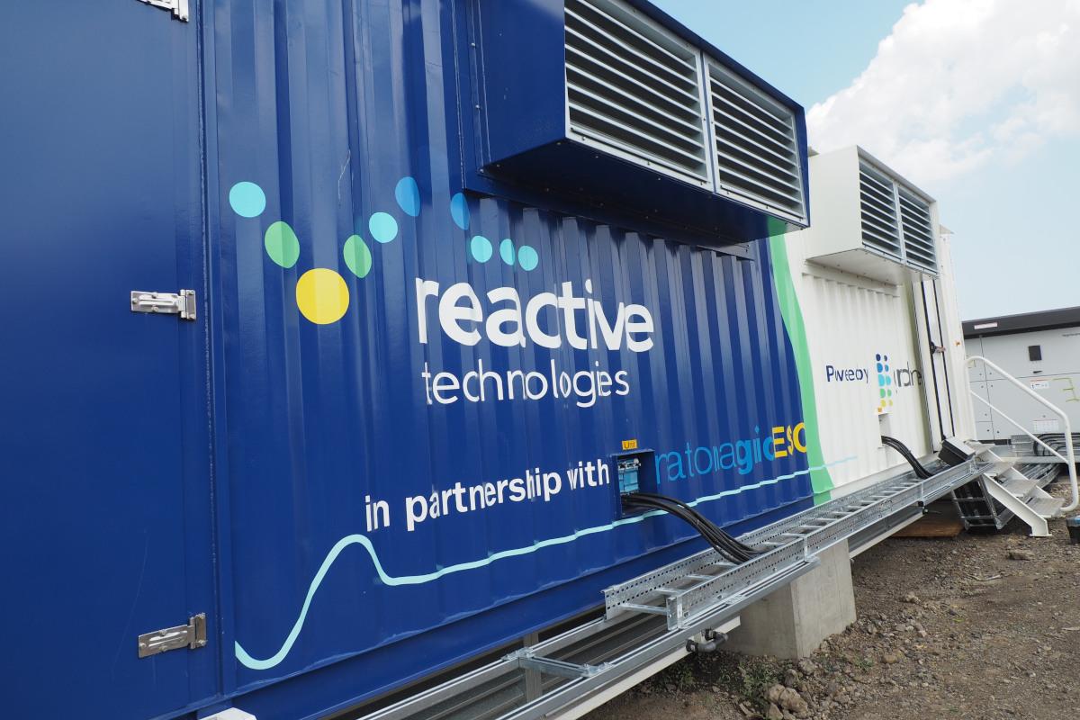Reactive Techs cabin