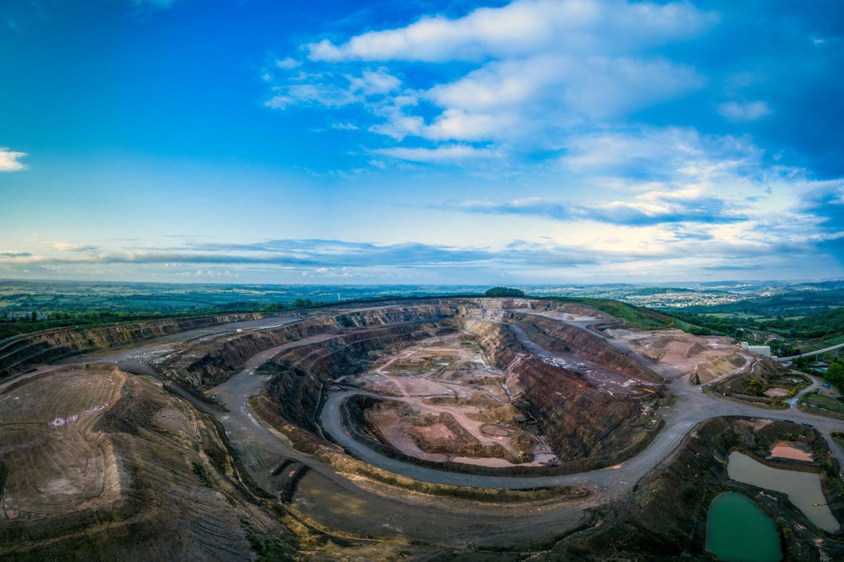 Tungsten mine