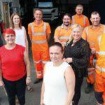 Lanes Group's East Anglian depot team