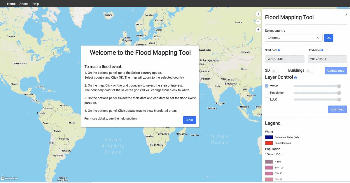 UN flood tool
