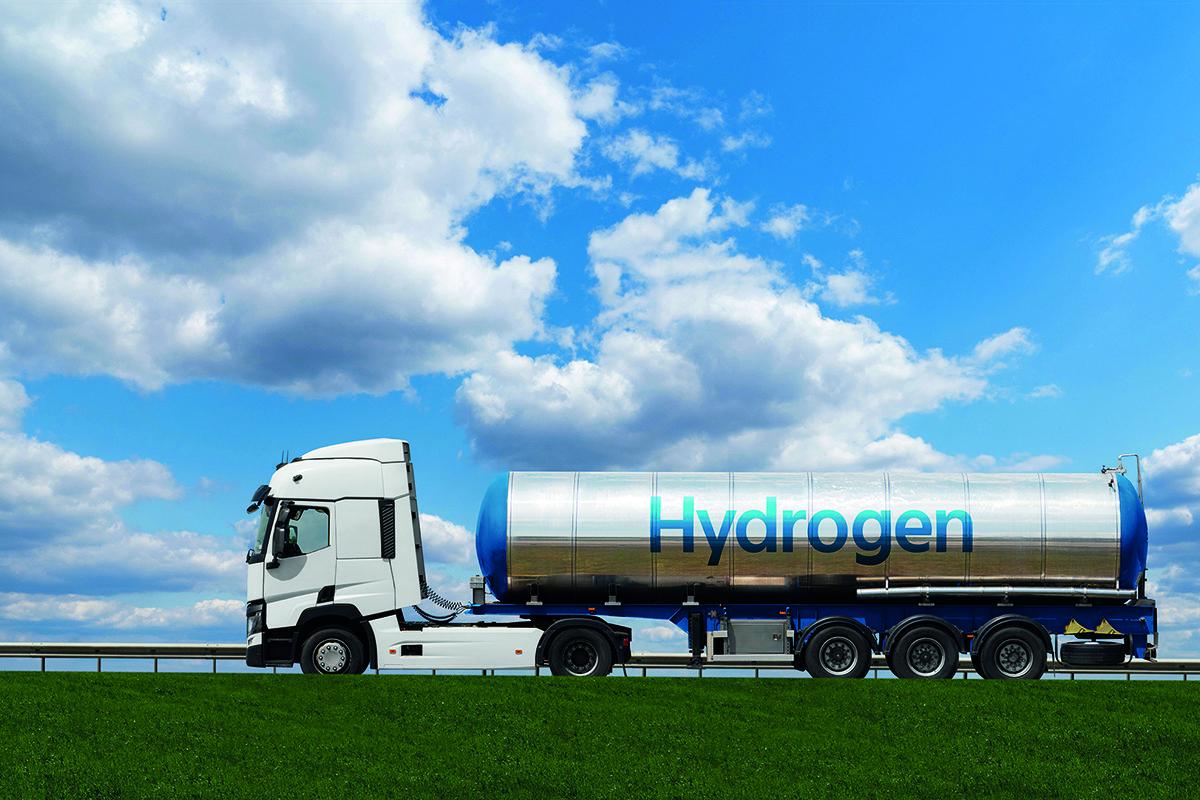 hydrogen lorry